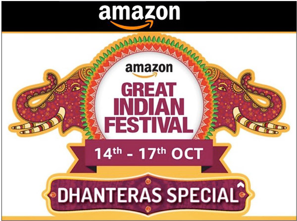 Amazom great india Diwali sale 14Oct-17th Oct