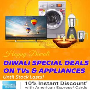 TVs and Appliances Big Diwali Sale @Flipkart