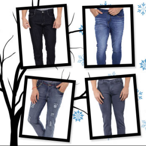 Mens Jeans Rs.269 onwards @Myvishal