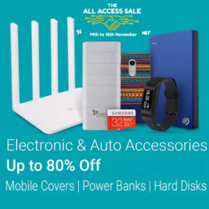 The All Access Sale - Best Deals On Electronics accessories @Flipkart