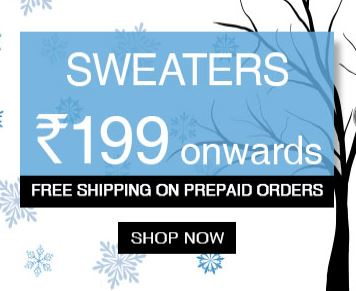 Sweaters Starting From Rs.199