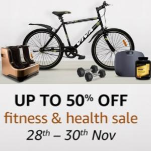 Deals on Health Essentials upto 50% off on Amazon