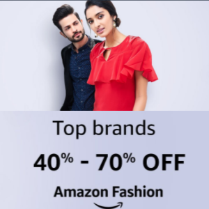 40% - 70% Off On Amazon Fashion