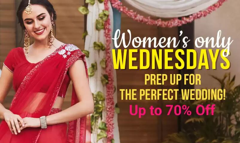Women's Only Wednesday : Upto 70% Off