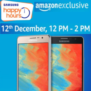 Samsung Happy Hour Deals @Amazon 12 pm - 2pm