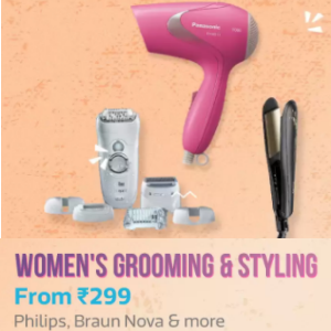 Womens Grooming & Styling from Rs.299