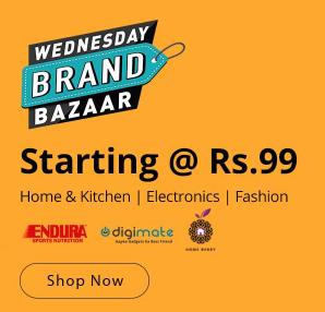 Wednesday Brand Bazaar at Shopclues