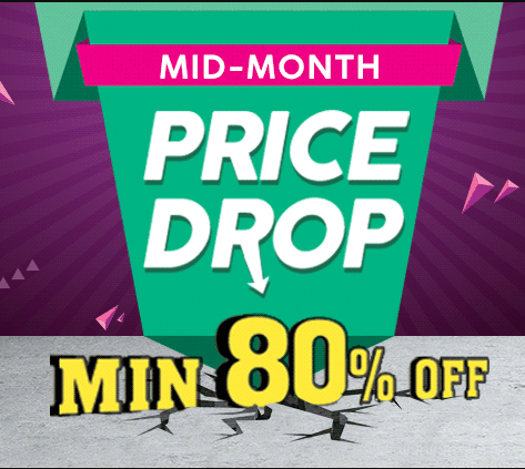 Price Neeche, Discount Upar! Min 80% Off on Everything @Shopclues