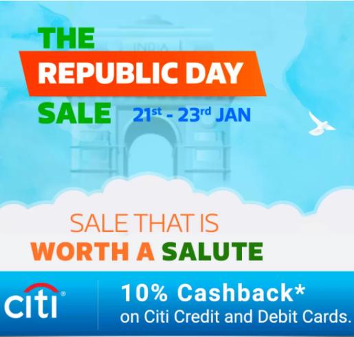 Republic Day Sale 21 - 23rd Jan