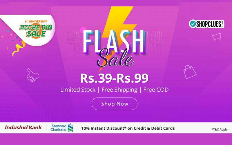 Flash Sale Rs.39-Rs.99