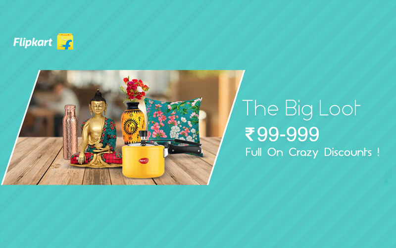 The Big Loot Sale: Rs.99-Rs.999