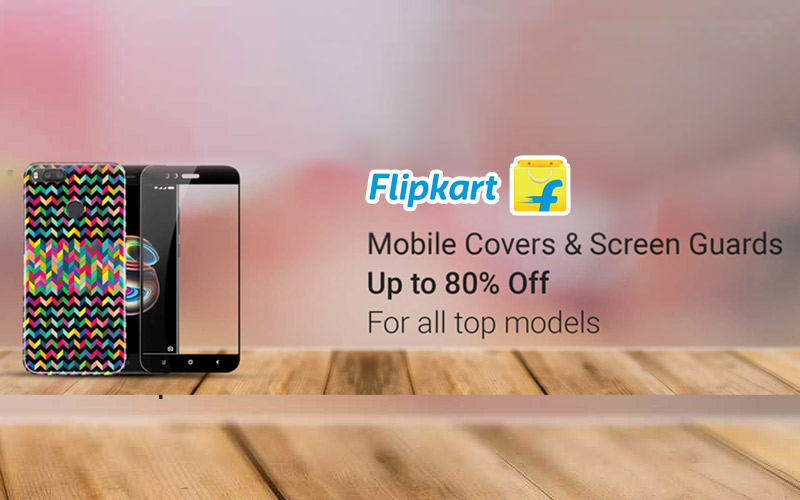 Upto 80% Off Mobile Covers & Screen Guards.