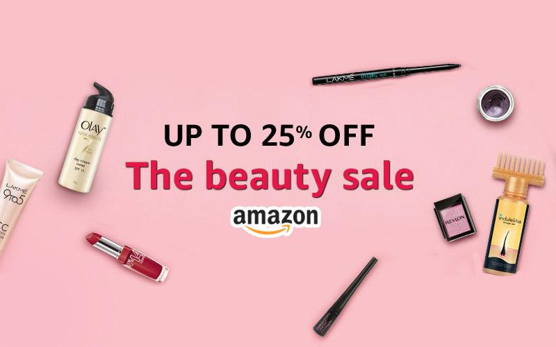 The Beauty Sale: Upto 25% Off