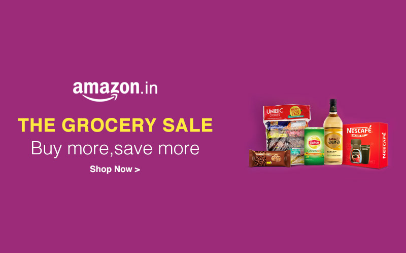 Grocery Sale: Up to 30% off + additional 10% off on shopping for Rs. 1000 or more