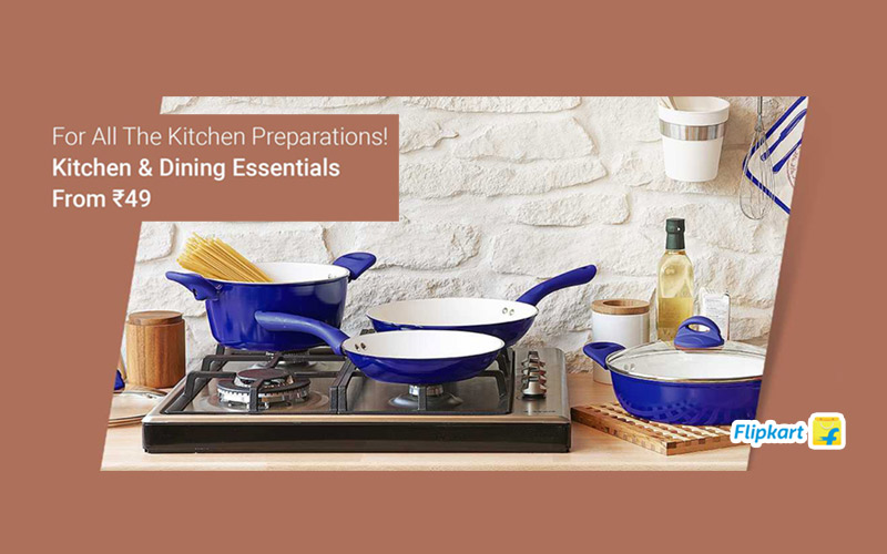 Dining & Kitchen Essentials Starts From Rs.49