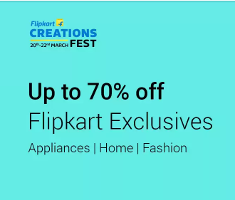 Upto 70% off on Flipkart Exclusives