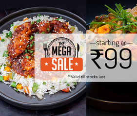 Meals for Steal from Rs.99 @Freshmenu