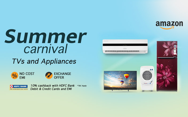 Summer Carnival: Upto 40% Off