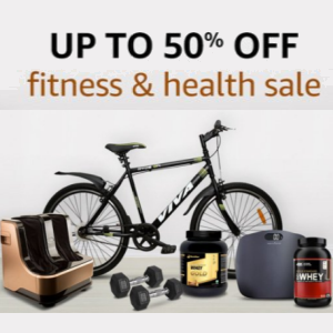 Health and Fitness Upto 50% off @Amazon