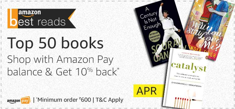 Amazon Best Reads for April: Get 10% Back*