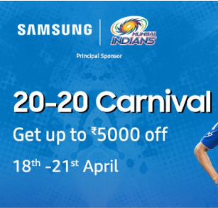 Samsung Days 20 - 20 Carnival  18th - 21st April @Amazon