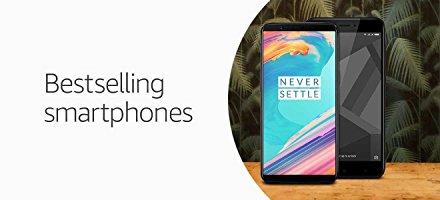 Bestselling Smartphones At Amazon