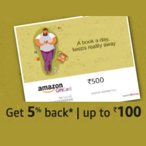 5% Back Upto 100 On Amazon Email Gift Cards