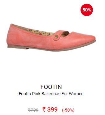 50% off on Bata Footwear