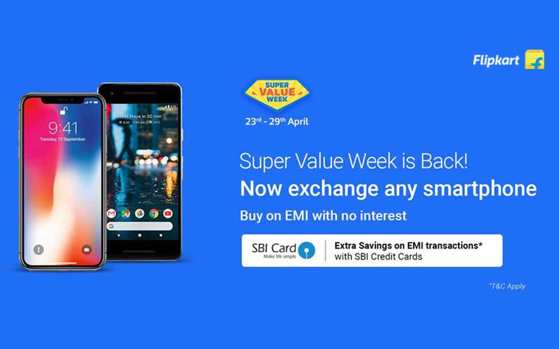 Super Value Week Is back : Unbelievable offers on Smartphones.