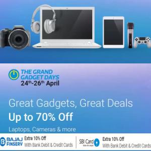 The Grand Gadget Days 24 - 26 April + 10% Off