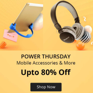 Mobiles, Accessories upto 80% off on Shopclues