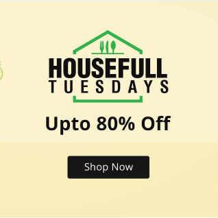 House of Summer Upto 80% Off + 15% Cashback