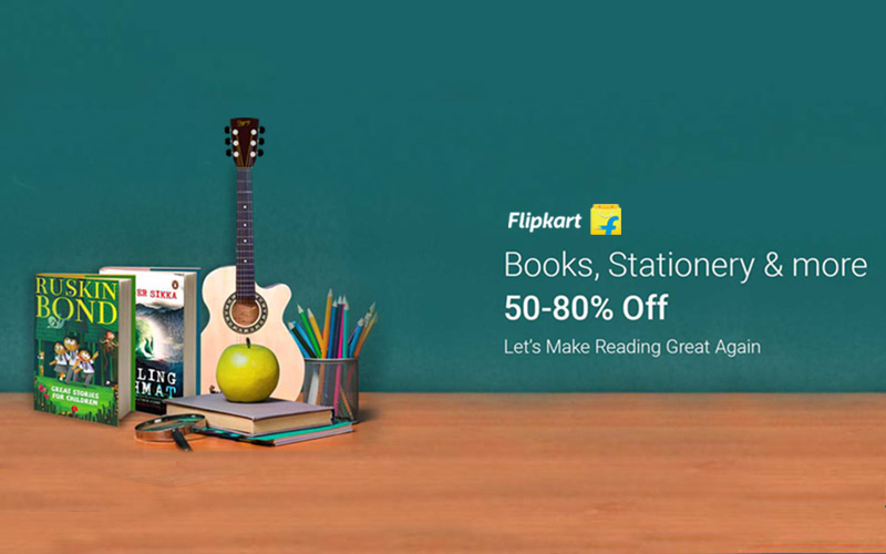 50%-80% Off On Books, Stationery & More.