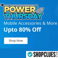 Upto 80% Off On Mobile Accessories & More  - Power Thursday