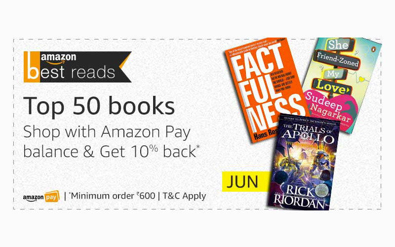 Amazon Best Reads For June: Get 10% Back*