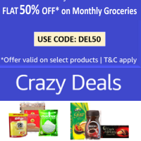 50% off on Amazon Pantry