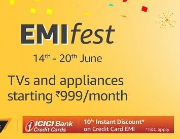 TVs & Appliances Starting From Rs.999/Month