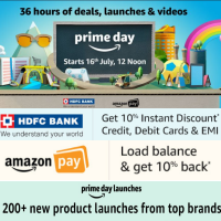 [Live ] 36 hours of deals, launches & videos - Prime Day Sale