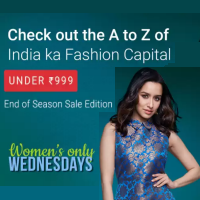 Fashion Under Rs.999 - Women's Wednesday @Flipkart