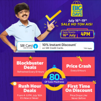 16 - 19th July - Big Shopping Days @Flipkart