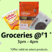 [3 - 4 pm] Groceries @1