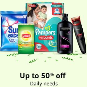 Daily Needs Upto 50% off