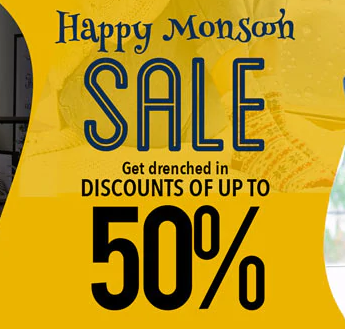 Upto 50% off on Furniture, Decor, Lamps, Furnishings and more